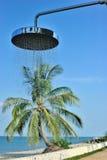 Cabeça de chuveiro ao ar livre Foto de Stock
