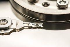 Cabeça de leitura/gravação de movimentação de disco rígido Imagens de Stock Royalty Free