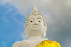 Cabeça de Lord Buddha, cabeça da Buda grande na montanha em Thail Fotos de Stock Royalty Free