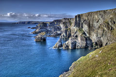Cabeça de Mizen, Ireland Foto de Stock Royalty Free