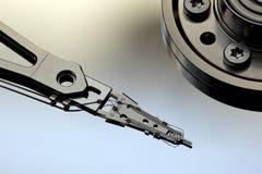 Cabeça de movimentação do disco rígido Foto de Stock Royalty Free