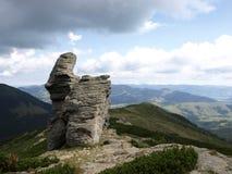Cabeça de pedra Imagens de Stock Royalty Free