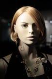 Cabeça de um Mannequin Fotografia de Stock Royalty Free