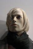 Cabeça de um Mannequin Imagem de Stock Royalty Free