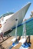Cabeça de um navio de cruzeiros Fotografia de Stock Royalty Free