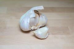 Cabeça do alho Fotografia de Stock