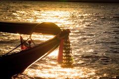 Cabeça do barco da longo-cauda Imagens de Stock