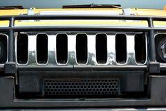 Cabeça do carro de esportes Foto de Stock Royalty Free