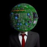 Cabeça do circuito Imagem de Stock