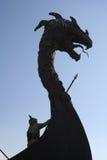 Cabeça do dragão Imagens de Stock