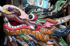 Cabeça do dragão fotos de stock
