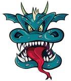 Cabeça do dragão Foto de Stock Royalty Free