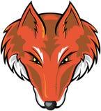 Cabeça do Fox ilustração do vetor
