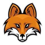 Cabeça do Fox ilustração stock