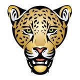 Cabeça do jaguar ilustração royalty free