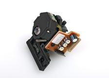 Cabeça do laser do jogador de CD/DVD Foto de Stock