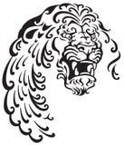 Cabeça do leão Imagens de Stock
