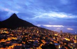 Cabeça do leão de Cape Town Fotos de Stock