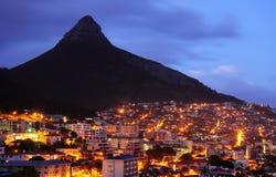 Cabeça do leão em Cape Town Fotos de Stock Royalty Free