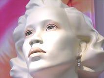 Cabeça do Mannequin Fotos de Stock