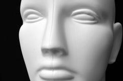 Cabeça do Mannequin Fotografia de Stock Royalty Free