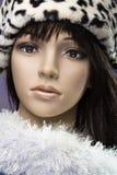 Cabeça do mannequin da forma Foto de Stock Royalty Free