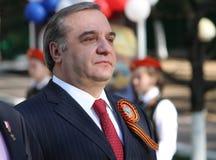 A cabeça do ministério das situações de emergência da Federação Russa fotos de stock royalty free