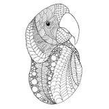 Cabeça do pássaro ilustração stock