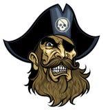 Cabeça do pirata  Imagens de Stock Royalty Free