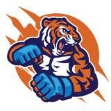 Cabeça do tigre do lutador do Muttahida Majlis-E-Amal Imagens de Stock