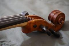Cabeça do violino Fotos de Stock