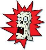 Cabeça do zombi ilustração do vetor