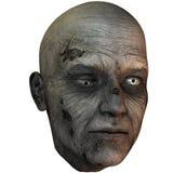 Cabeça do zombi ilustração stock