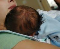 Cabeça dos bebês Imagens de Stock