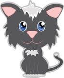 Cabeça grande do gato bonito Fotografia de Stock