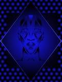 Cabeça humana abstrata Imagens de Stock Royalty Free