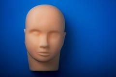 Cabeça humana vazia do manequim Imagens de Stock Royalty Free