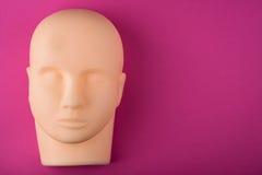 Cabeça humana vazia do manequim Fotos de Stock Royalty Free