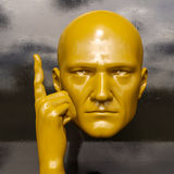 Cabeça masculina do Mannequin Imagens de Stock Royalty Free