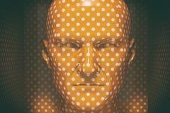 Cabeça masculina do Mannequin Foto de Stock