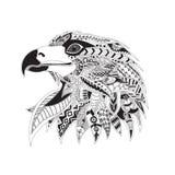 Cabeça modelada de uma águia Fotografia de Stock Royalty Free