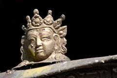 Cabeça pequena da Buda Fotos de Stock Royalty Free