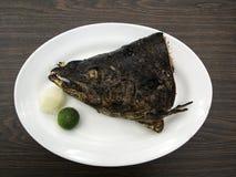 Cabeça salmon grelhada Imagem de Stock
