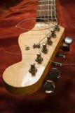 Cabeça velha da guitarra Foto de Stock Royalty Free
