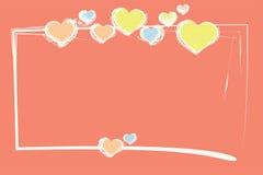 Cabeçalho do amor Fotos de Stock Royalty Free