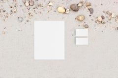 Cabeçalho do cartão Imagem de Stock