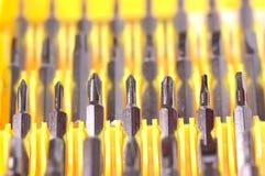 Cabeças da chave de fenda Imagens de Stock Royalty Free