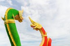 Cabeças da estátua de Naka Fotos de Stock Royalty Free