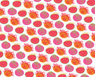 Cabeças de Bubblegum da polca ilustração royalty free