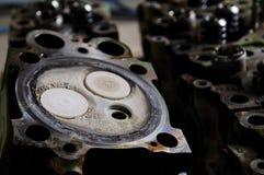 Cabeças de cilindro Imagem de Stock Royalty Free